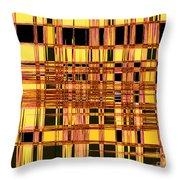 Speak To Me - Abstract Art Throw Pillow