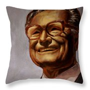 speaking of Rockefeller... Throw Pillow