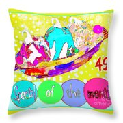 Special Of The Month Throw Pillow