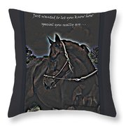 Special Thoughts Throw Pillow
