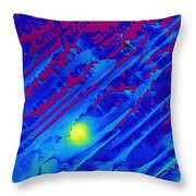 Spectinomycin Throw Pillow