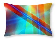 Spectrum Correction Throw Pillow