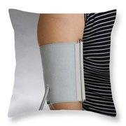 Sphygmomanometer Throw Pillow