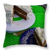 Spice Cake 02 Throw Pillow