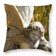 Spider Fairy Throw Pillow
