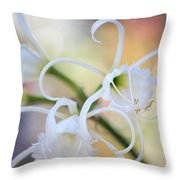 Spider Lily 3 Throw Pillow