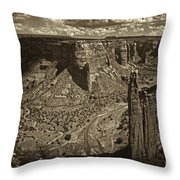 Spider Rock - Toned Throw Pillow