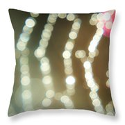 Spider Web Bokeh 3.0 Throw Pillow