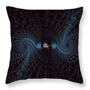 Spiders Lair Throw Pillow