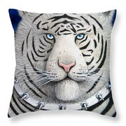 Spike The Tiger Throw Pillow
