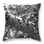 Spiked Limbs Throw Pillow