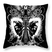Spine Of Mine Throw Pillow