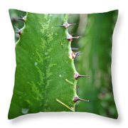 Spines Throw Pillow