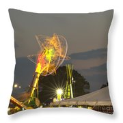 Spinning Throw Pillow