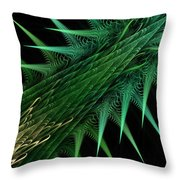 Spiny Branch Throw Pillow