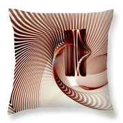 Spiral-2 Throw Pillow