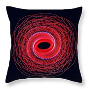 Spiral Abstract 24 Throw Pillow
