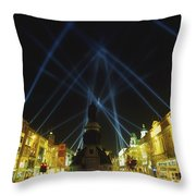 Spire Of Dublin, Oconnell Street Throw Pillow