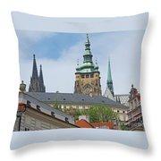 Spires Of St. Vitus Throw Pillow