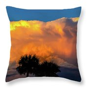 Spirit In The Clouds Throw Pillow by Shannon Harrington