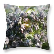 Spirit Of Broccoli Throw Pillow