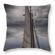 Spirit Of Massachusetts No 2 Throw Pillow