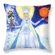 Spirit Of Winter Throw Pillow