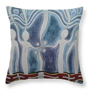Spirit Watchers  Throw Pillow