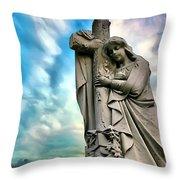 Spiritual Healing Throw Pillow