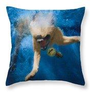 Splashdown 2 Throw Pillow