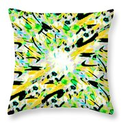 Splat 3 Throw Pillow