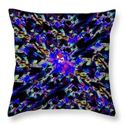 Splat 5 Throw Pillow
