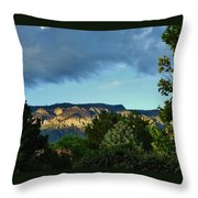 Splendor Of The Mountains Throw Pillow