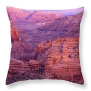 Splendor Of Utah Throw Pillow