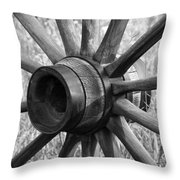 Spokes Throw Pillow by Ernie Echols