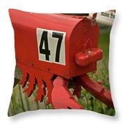 Sponge Bob's Mail Box  Throw Pillow