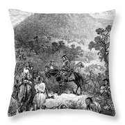 Spotswoods Expedition Throw Pillow