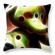 Spotted Elephant Throw Pillow