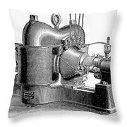 Sprague Motor, C1890 Throw Pillow