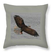 Spread Eagle Throw Pillow