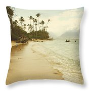 Sprecks Beach Throw Pillow
