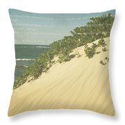 Sprecks - The Dunes Throw Pillow