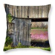 Spring In Kentucky Throw Pillow