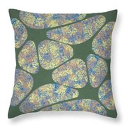 Spring Lips Throw Pillow