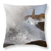 Spring Tide Throw Pillow