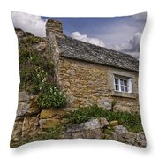 Springtime In Brittany Throw Pillow