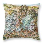 Springtime Vision Throw Pillow