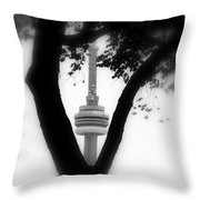 Sprouting Modernity Throw Pillow