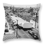 Spruce Goose Wing On The Move Throw Pillow