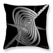Sput 2 Throw Pillow by Deborah Benoit